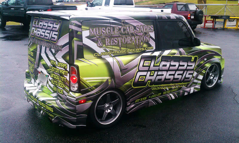 Classy Chassis Graphics and Paint